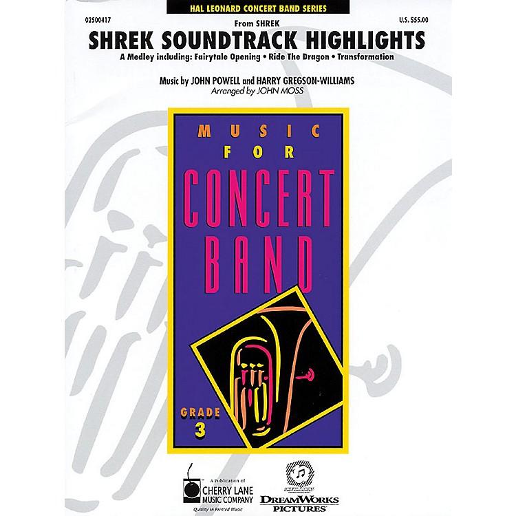 Cherry LaneShrek Soundtrack Highlights - Young Concert Band Level 3 by John Moss