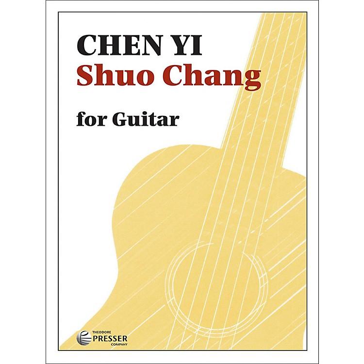 Carl FischerShuo Chang - Solo Guitar