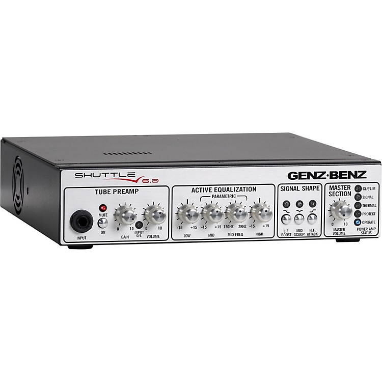 Genz BenzShuttle 6.0 600 Watt Lightweight Bass Amp