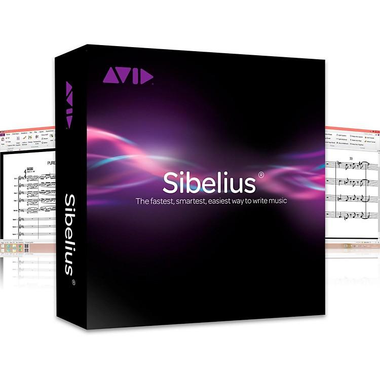 SibeliusSibelius +Photoscore and Audioscore with Support (Academic Version)