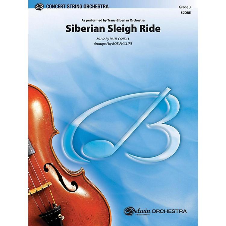 AlfredSiberian Sleigh Ride String Orchestra Grade 3