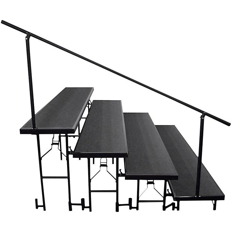 National Public SeatingSide Guard Rails for Standard Risers4-Level
