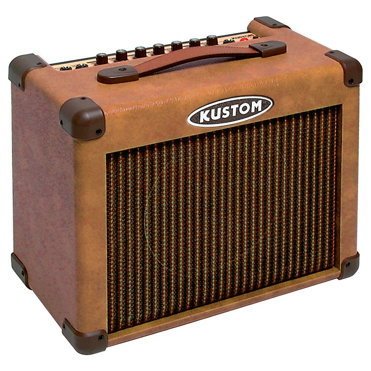 KustomSienna 16 Acoustic Guitar Combo AmpBrown