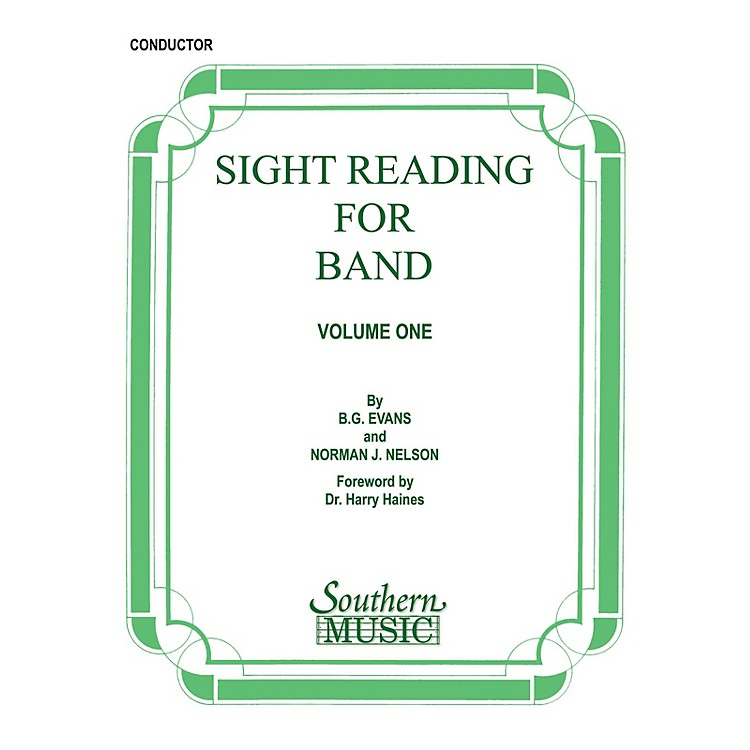 SouthernSight Reading for Band, Book 1 (Conductor) Concert Band Level 2 Composed by Billy Evans