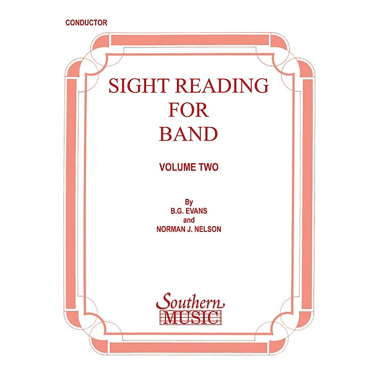 SouthernSight Reading for Band, Book 2 (Baritone B.C.) Southern Music Series Composed by Billy Evans