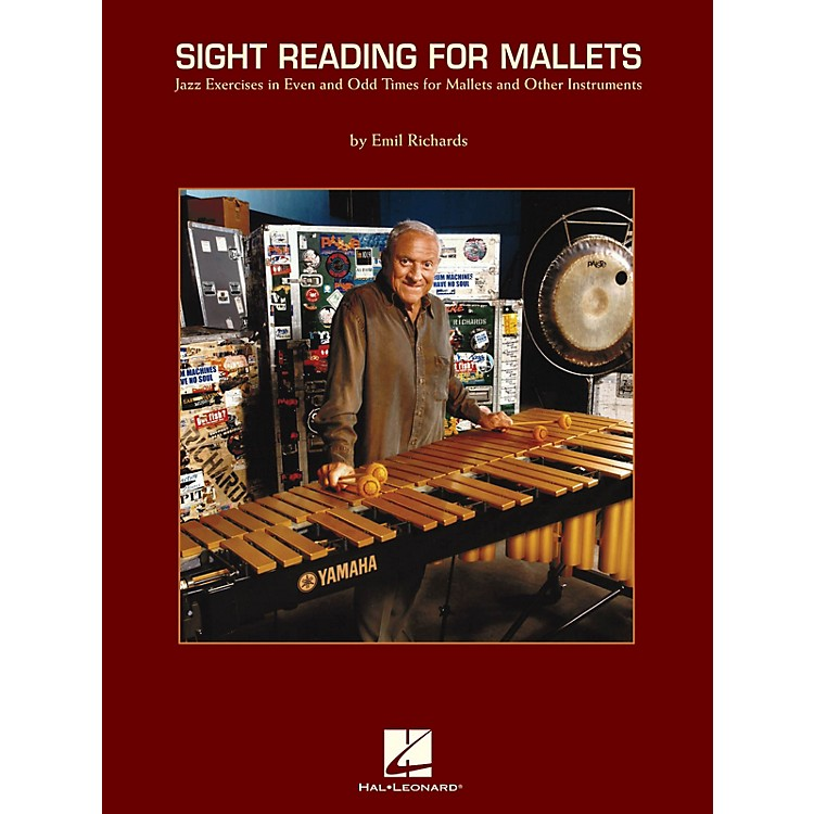 Hal LeonardSight Reading for Mallets Percussion Series Softcover Written by Emil Richards