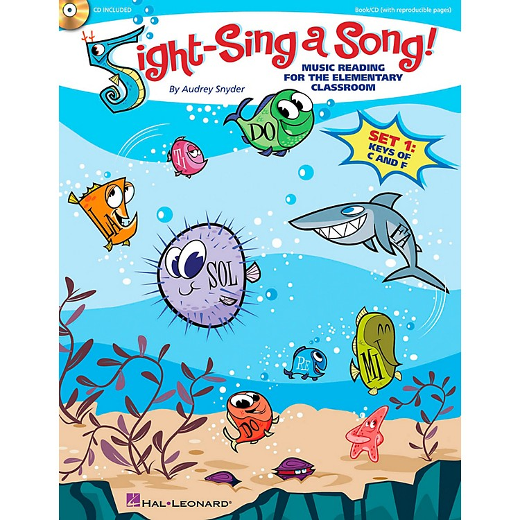 Hal LeonardSight-Sing a Song! (Set 1) Music Reading for the Elementary Classroom Book/CD