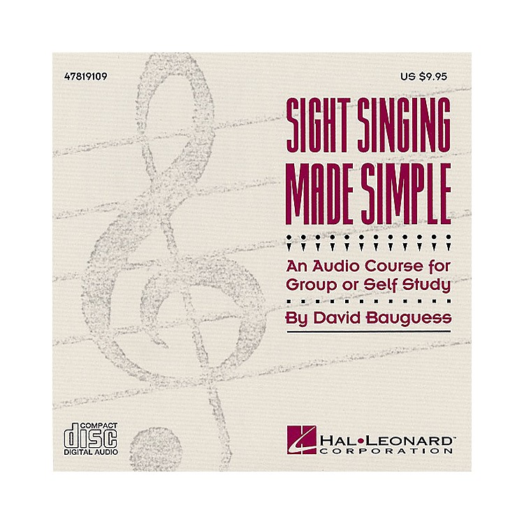 Hal Leonard Sight Singing Made Simple (Resource) CD composed by David Bauguess