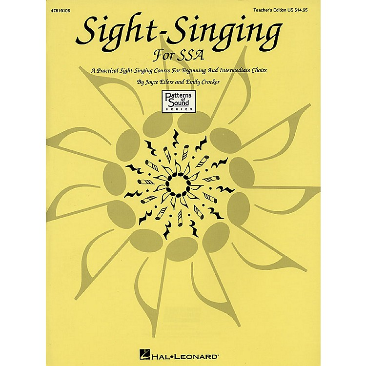 Hal LeonardSight-Singing for SSA (Resource) TEACHER ED composed by Emily Crocker