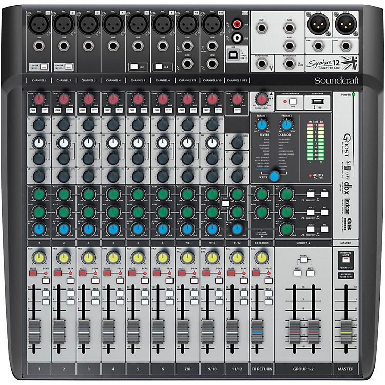 SoundcraftSignature 12MTK Multi-Track Mixer