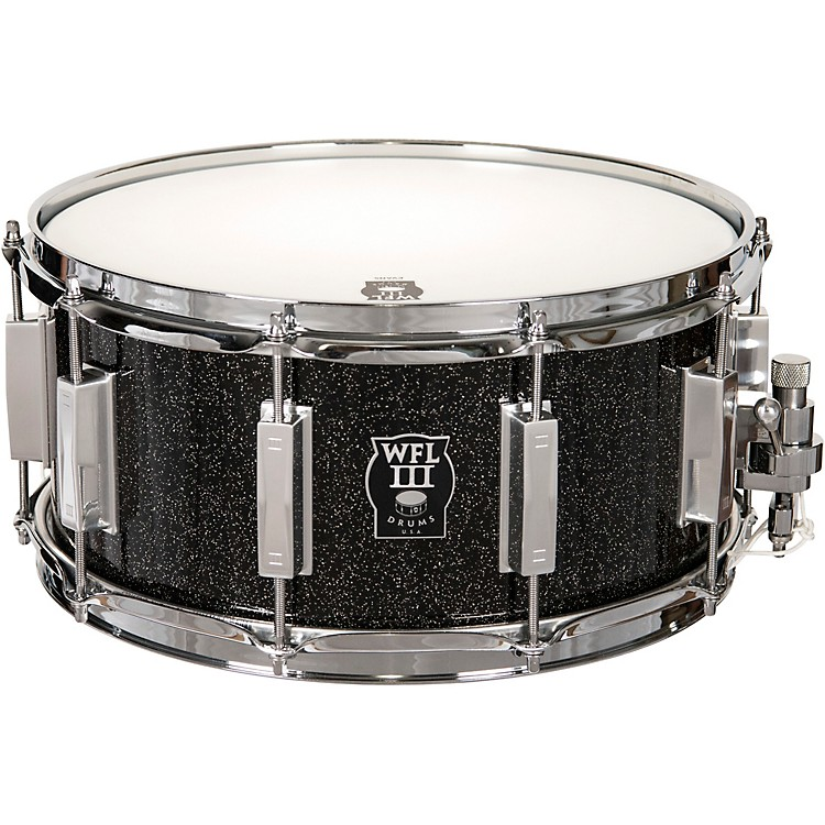 wfliii drums signature metal snare drum with chrome hardware music123. Black Bedroom Furniture Sets. Home Design Ideas