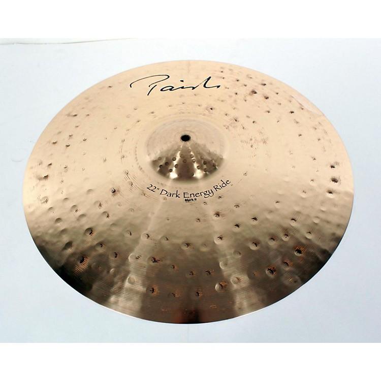 PaisteSignature Series Dark Energy MKII Ride Cymbal886830777790