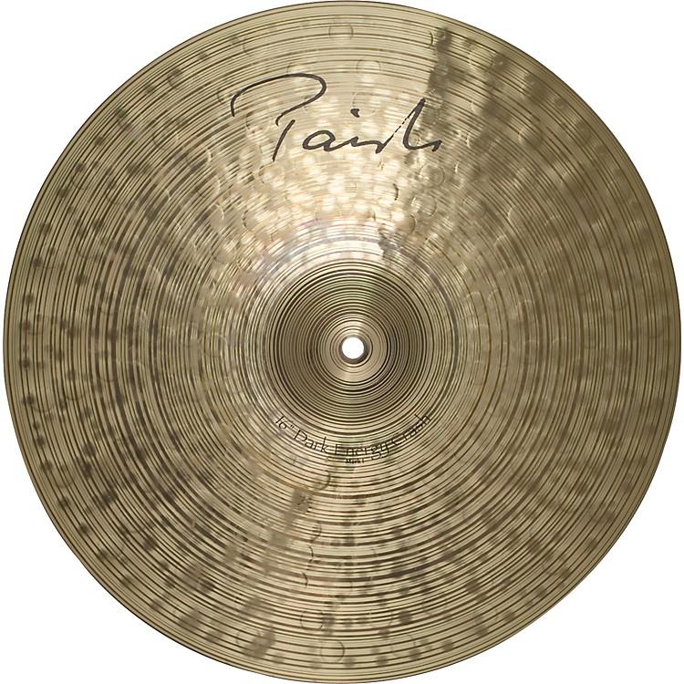 PaisteSignature Series Dark MKI Energy Crash Cymbal16 in.