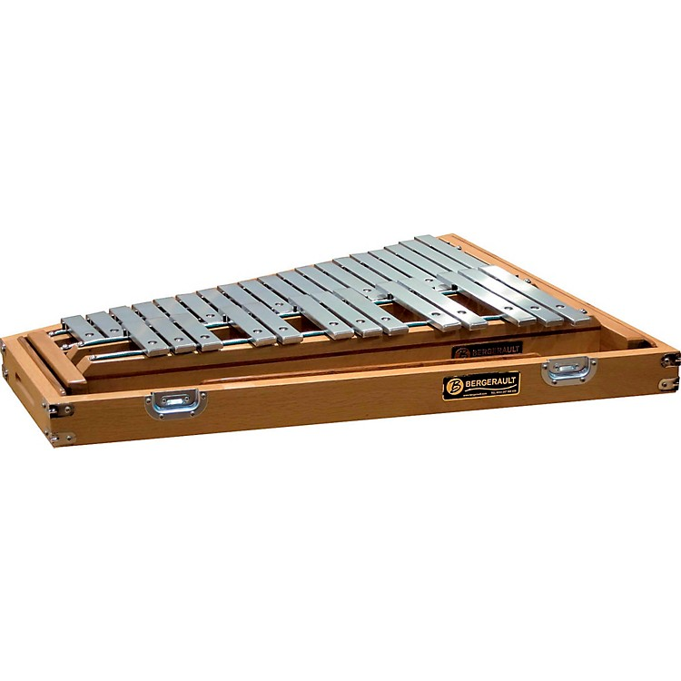 BergeraultSignature Series Glockenspiel With Oak Case, 2.5 Octaves