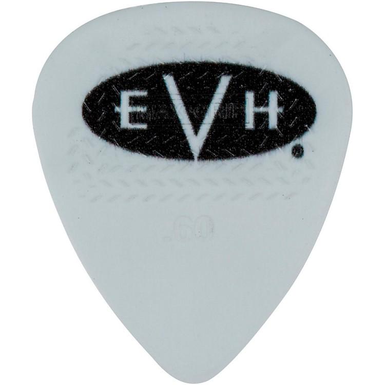 EVHSignature Series Picks (6 Pack)0.60 mmWhite/Black