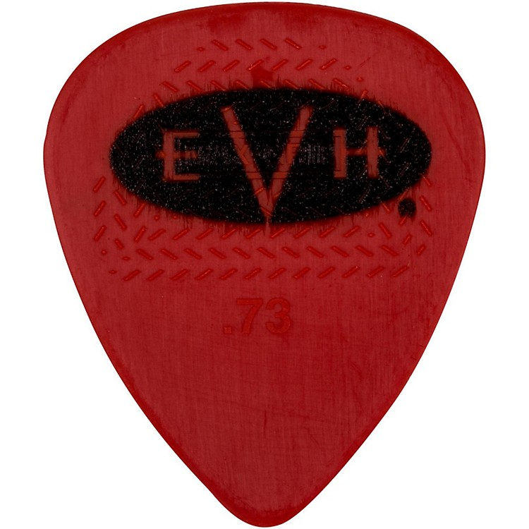EVH Signature Series Picks (6 Pack) 0.73 mm Red/Black