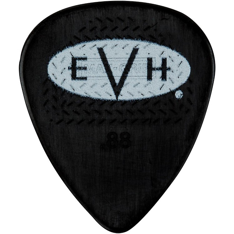 EVH Signature Series Picks (6 Pack) 0.88 mm Black/White