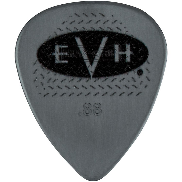 EVH Signature Series Picks (6 Pack) 0.88 mm Gray/Black