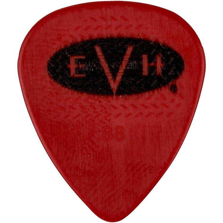 EVHSignature Series Picks (6 Pack)0.88 mmRed/Black