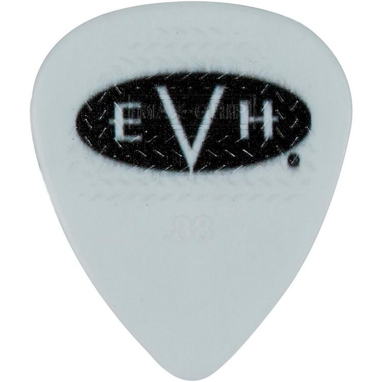 EVHSignature Series Picks (6 Pack)0.88 mmWhite/Black