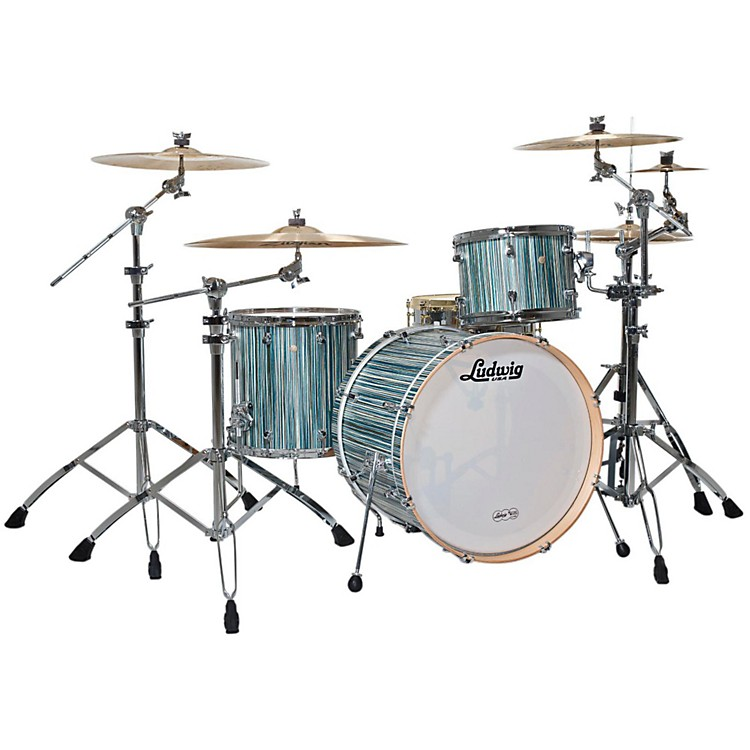 Ludwig Signet 105 Gigabeat 3-Piece Shell Pack Alpine Blue