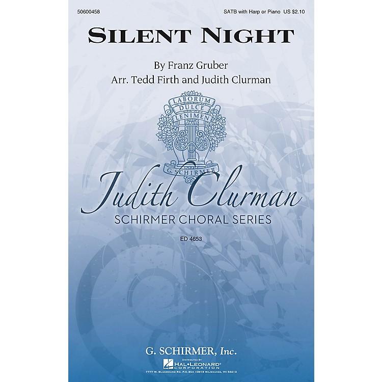 G. SchirmerSilent Night (Judith Clurman Choral Series) SATB arranged by Tedd Firth