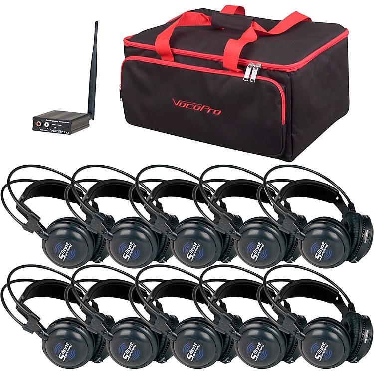 VocoProSilentSymphony-Learn 10 Station Stereo Wireless Listening Center