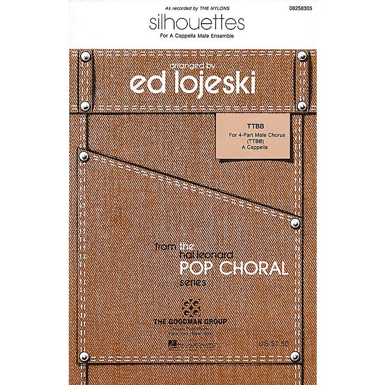 Hal LeonardSilhouettes TTBB A Cappella by The Nylons arranged by Ed Lojeski