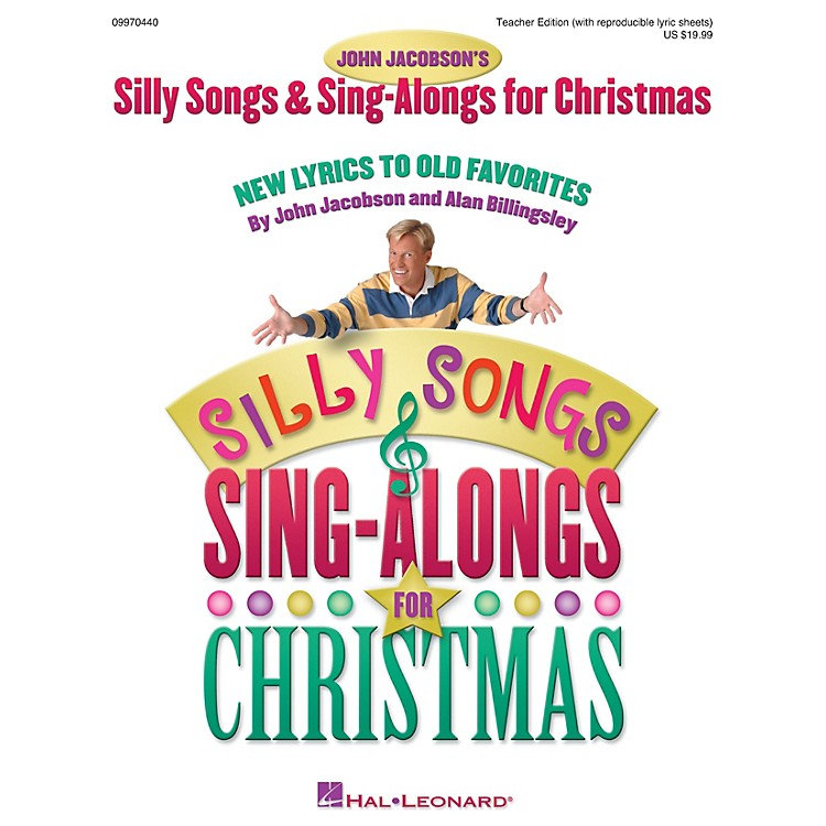 Hal LeonardSilly Songs and Sing-Alongs for Christmas (Collection) TEACHER ED Composed by John Jacobson