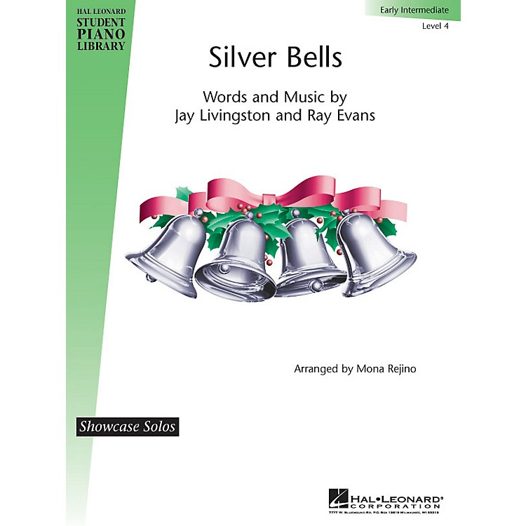 Hal LeonardSilver Bells Piano Library Series by Jay Livingston (Level Early Inter)