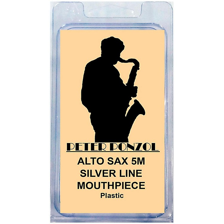 Peter PonzolSilver Line Premium Saxophone Mouthpiece KitAlto Saxophone 5M