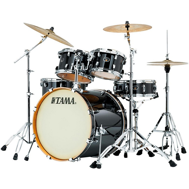 Tama Silverstar 5-Piece Shell Pack Brushed Charcoal Black