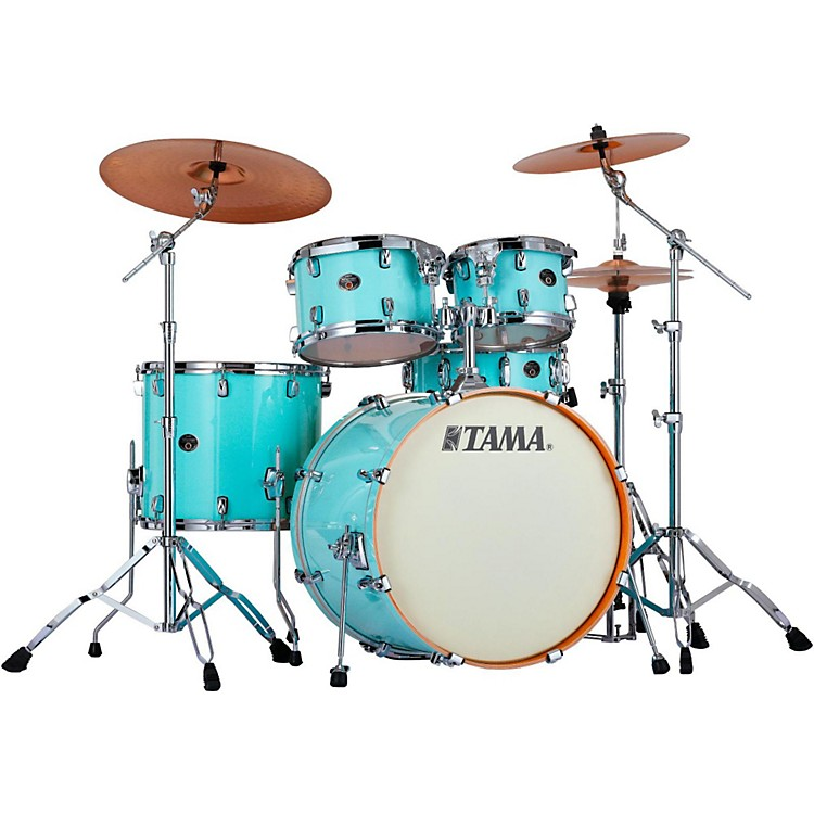 TamaSilverstar 5-Piece Shell PackLight Blue Lacquer