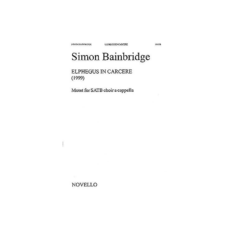 Music SalesSimon Bainbridge: Elphegus In Carcere Music Sales America Series