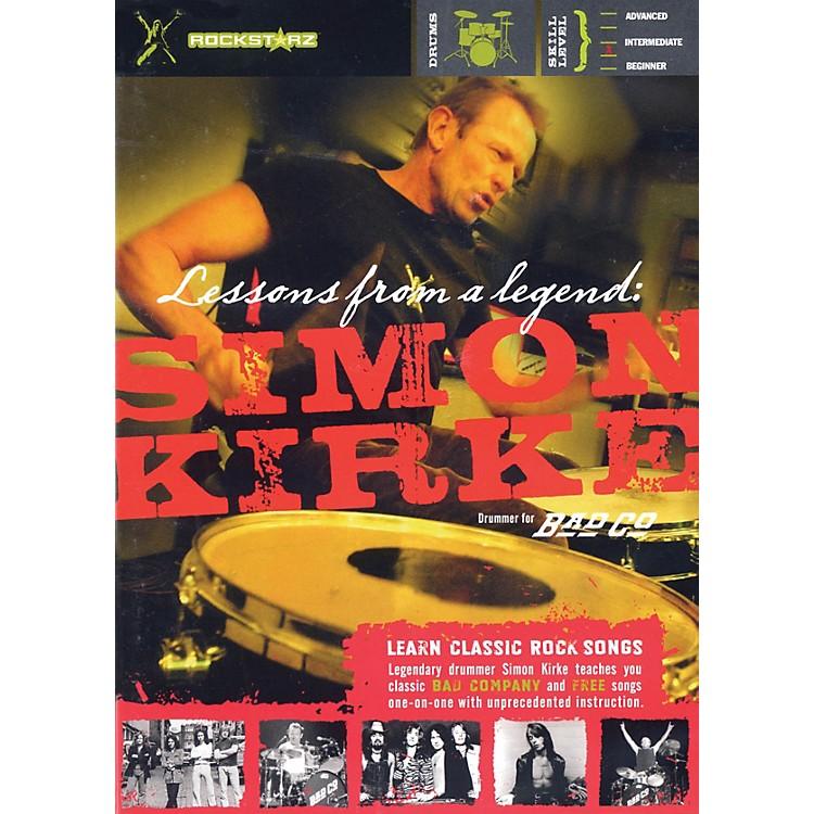RockstarzSimon Kirke - Lessons from a Legend Instructional/Drum/DVD Series DVD Written by Simon Kirke