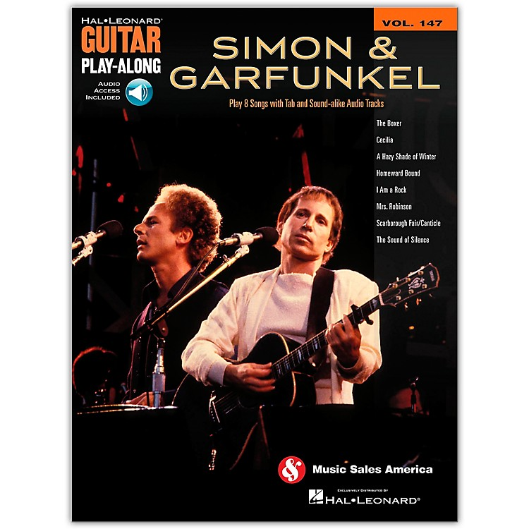 Hal LeonardSimon and Garfunkel Guitar Play-Along Volume 147