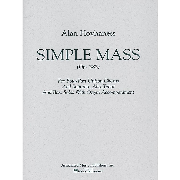 AssociatedSimple Mass (SATB) SATB composed by Alan Hovhaness