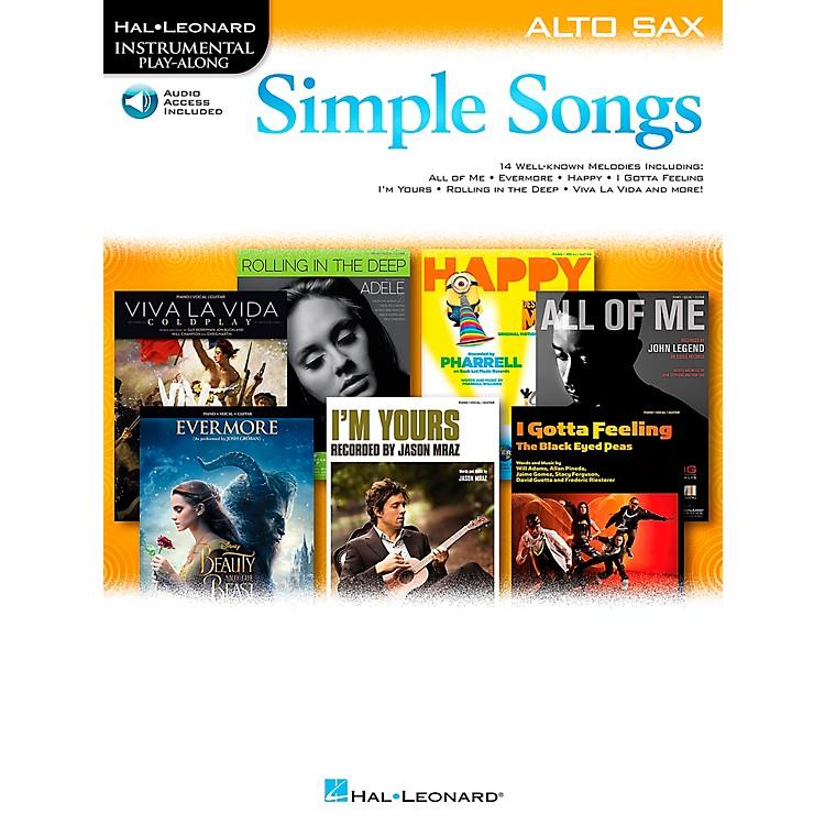 Hal LeonardSimple Songs (Alto Sax) Alto Sax