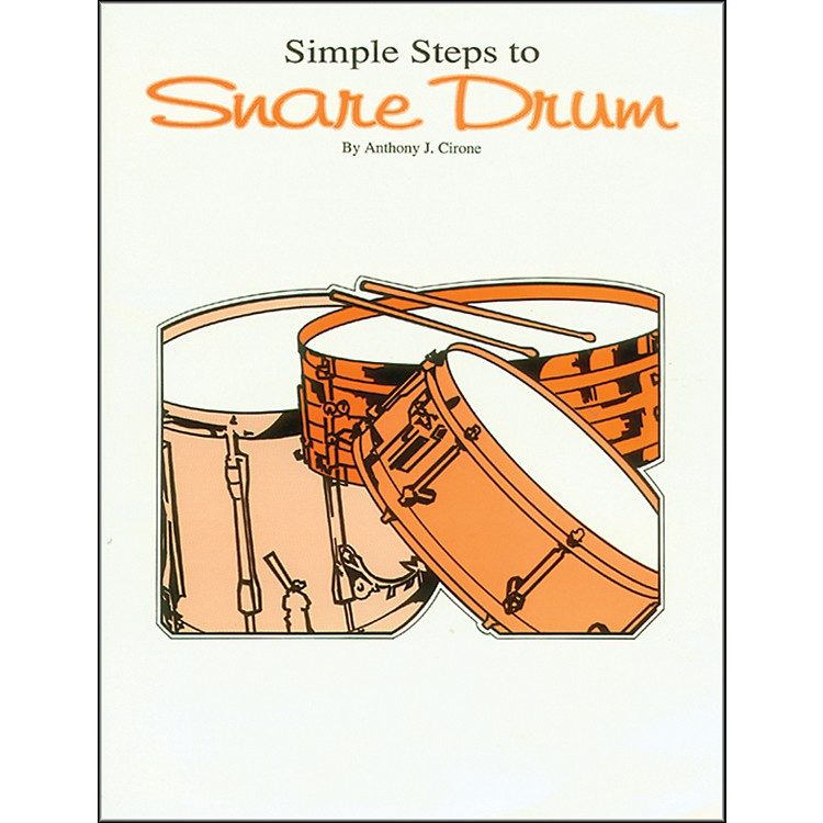 Alfred Simple Steps to Snare Drum Book