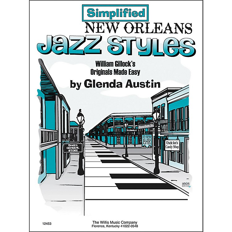 Willis Music Simplified New Orleans Jazz Styles Later Elementary Piano by Glenda Austin
