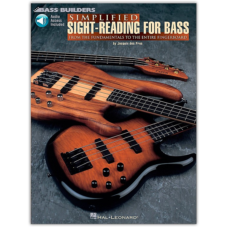 Hal LeonardSimplified Sight-Reading for Bass (Book/Online Audio)