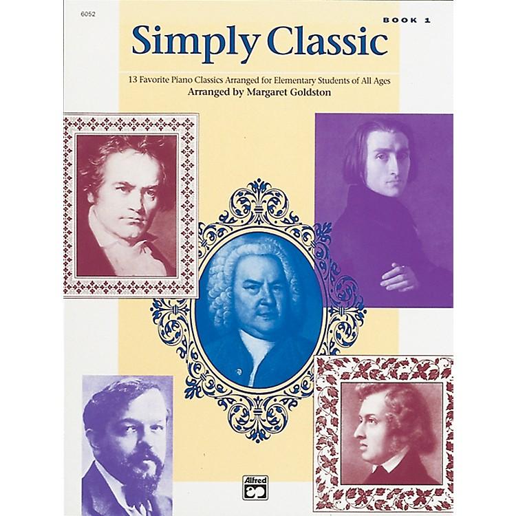 AlfredSimply Classic Book 1 Piano
