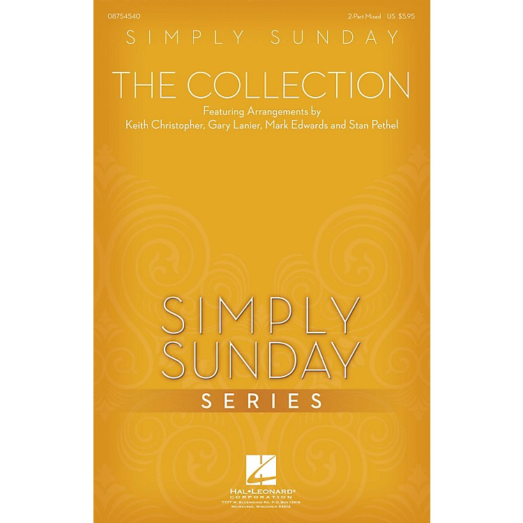 Hal LeonardSimply Sunday - The Collection PREV CD Arranged by Keith Christopher