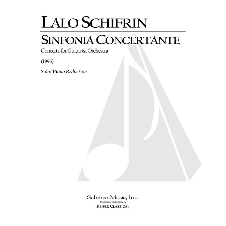 Lauren Keiser Music PublishingSinfonia Concertante for Guitar and Orchestra (Piano Reduction) LKM Music Series by Lalo Schifrin