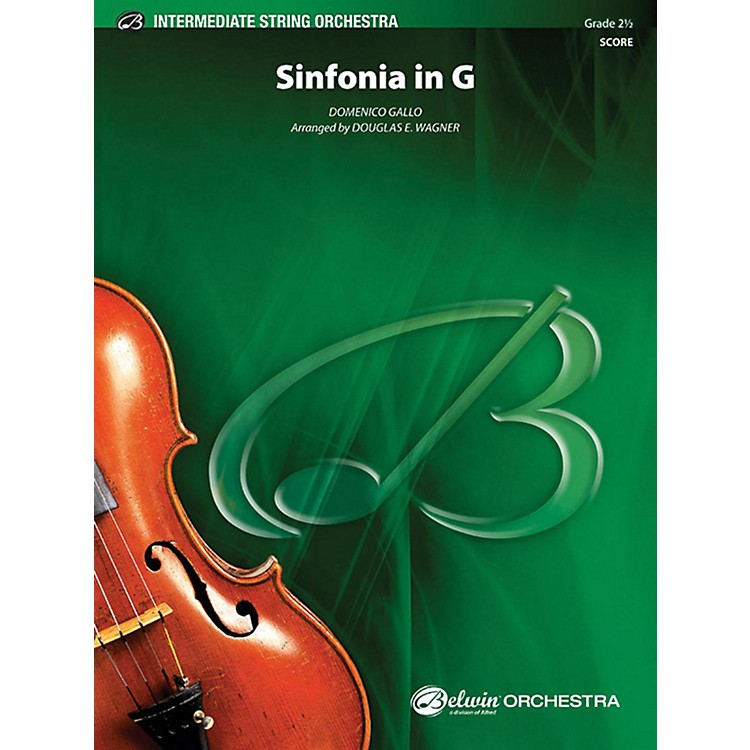 AlfredSinfonia in G String Orchestra Grade 2.5