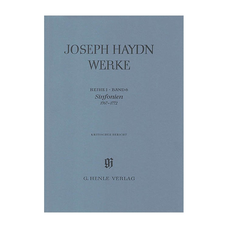 G. Henle VerlagSinfonias 1767-1772 Henle Edition Series Hardcover