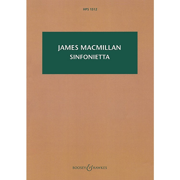 Boosey and HawkesSinfonietta Boosey & Hawkes Scores/Books Series Softcover Composed by James MacMillan