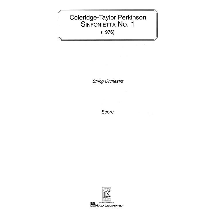 Lauren Keiser Music PublishingSinfonietta No. 1 (for String Orchestra) LKM Music Series Composed by Coleridge-Taylor Perkinson