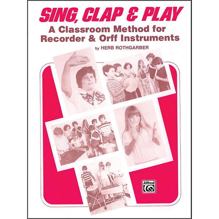 AlfredSing Clap and Play Book