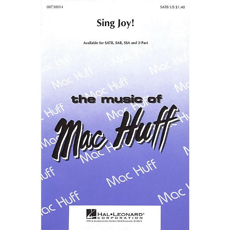 Hal LeonardSing Joy! SAB